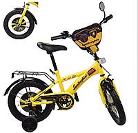 Велосипед детский двух колесный 14 дюймов Lamborghini 181447***