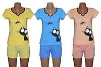 Новый хит от УКРТРИКОТАЖ! Яркие молодежные пижамки для сна и дома серии Pauchok!