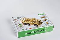 Дерев'яний 3d конструктор ekoGOODS, Воєнний грузовик (Military Truck)