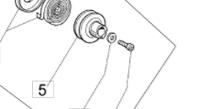 Шкив  стартера б/п Oleo-mac 936, 937, 940