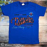 Не дорогая футболка для мальчика Размеры:9,10,11 лет (6186-1)