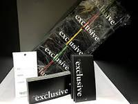 Этикетка бумажная Exclusive черная (Бирка 1000 шт)