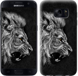 "Чехол на Samsung Galaxy S7 G930F Лев ""1080c-106-328"""