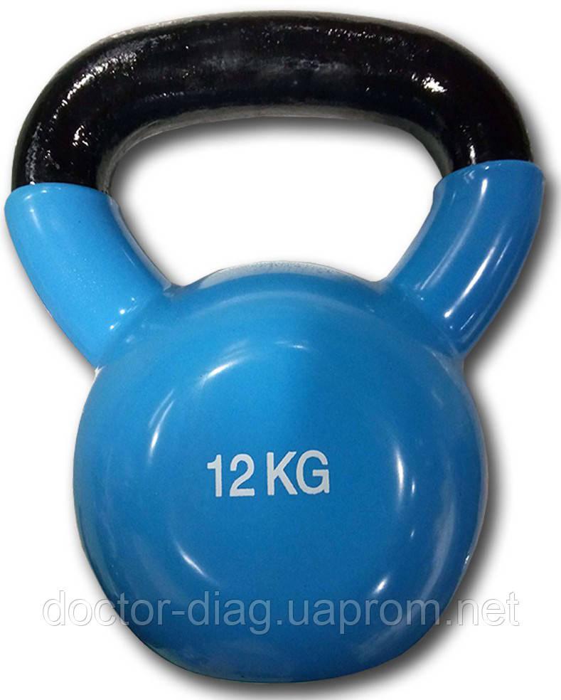 Fitex Гиря виниловая цветная Fitex Explode MD2201-12 (12 кг)