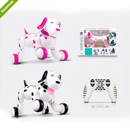 Радиоуправляемая робот-собака HappyCow Smart Dog 777-338 ***