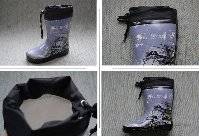 Резиновые сапоги пираты фото