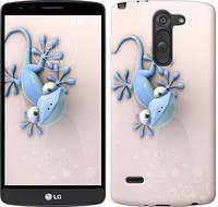 """Чехол на LG G3 Stylus D690 Гекончик """"1094c-89-657"""""""