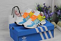 Женские Кроссовки Adidas Equipment adv 91-17 - белые с жёлтым, фото 1