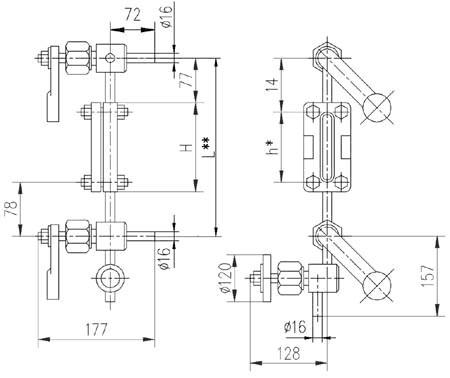 Указатель уровня Т-45-1, Т-45-2.