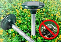 Ультразвуковой садовый отпугиватель грызунов, мышей, кротов с солнечной батареей