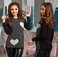 Женский свитер - вязка, 0002