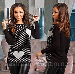 Женский свитер - вязка, Турция, 0002