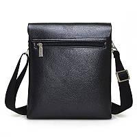 Мужская наплечная сумка из кожи от Polo