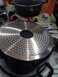 Кастрюля Giakoma G-2831-24 керамическое покрытие 3.5 л, фото 7