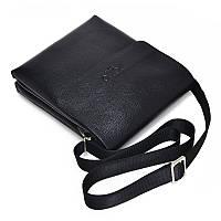Удобная мужская кожаная сумка Polo