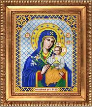 """Схема для вышивки бисером """"Пресвятая Богородица Неувядаемый цвет"""" И-5012"""