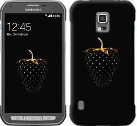 """Чехол на Samsung Galaxy S5 Active G870 Черная клубника """"3585c-364-328"""""""