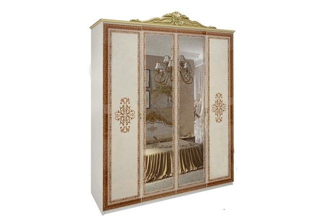 Шафа (шкаф) з ДСП/МДФ в спальню/вітальню/дитячу Дженніфер 4Д Миро-Марк