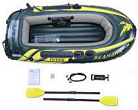 Надувная лодка Intex 68347 SeaHawk 2 Двухместная