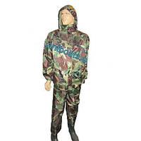 Дождевик ПВХ костюм камуфляж