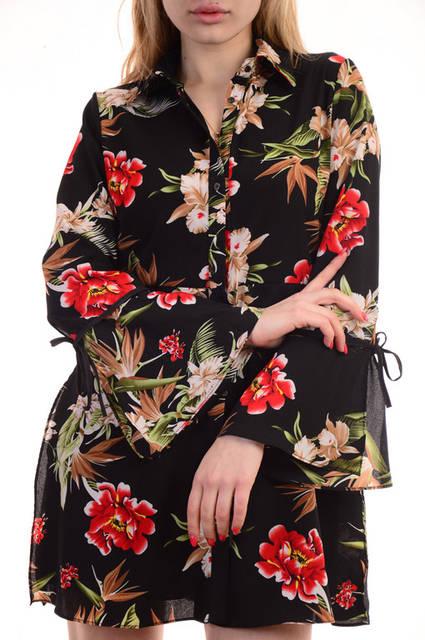 АКЦИЯ!!! Новая цена 11,5Є!!!Комбинезоны короткие с цветами оптом Timiami лот6шт по 14Є 389