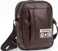 Мужская сумка All Star, сумка через плече Converse коричневый  реплика