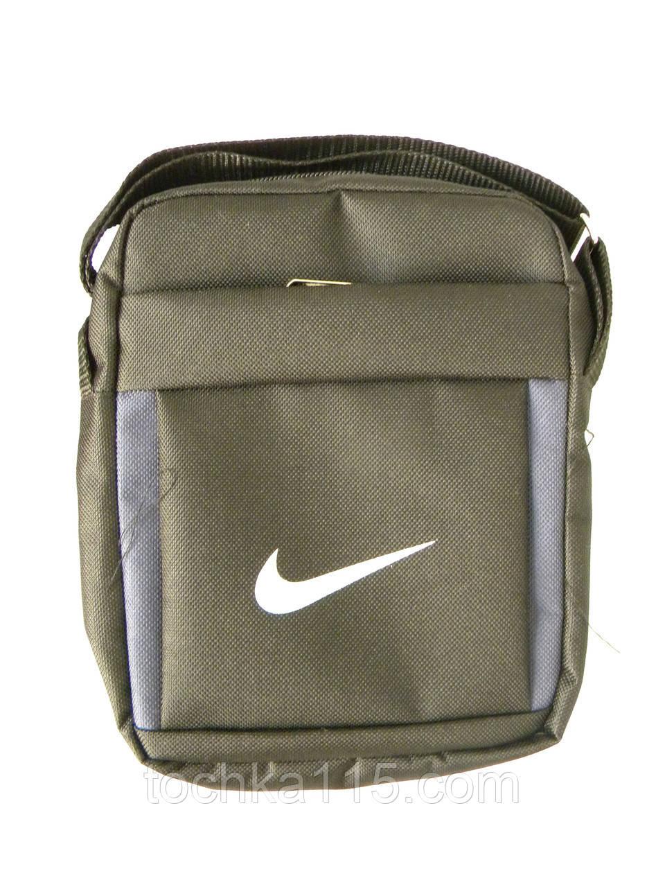 022bb81b6 Мужская сумка через плече Nike, чоловiчi сумки Найк, молодежная сумка через  плече, сумка