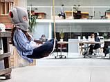 Подушка-страус ostrich pillow для послеобеденного сна на работе или отдыха в дороге, фото 5