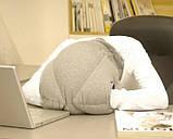 Подушка-страус ostrich pillow для послеобеденного сна на работе или отдыха в дороге, фото 6