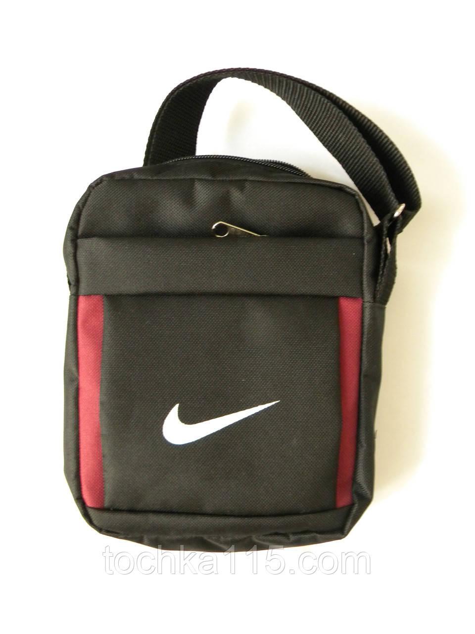 Мужская сумка через плече Nike, чоловiчi сумки Найк, молодежная сумка через плече, сумка для документов   реплика - Точка 115 в Николаевской области