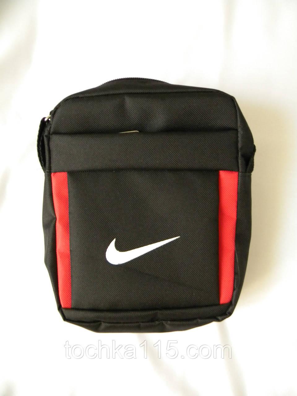 812463f9cd95 Мужская сумка через плече Nike, чоловiчi сумки Найк, молодежная сумка через  плече, сумка