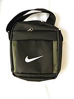 Мужская сумка через плече Nike, чоловiчi сумки Найк, молодежная сумка через плече, сумка для документов   реплика, фото 1