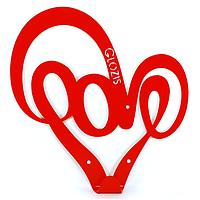 Вешалка настенная Love (металлическая), фото 1