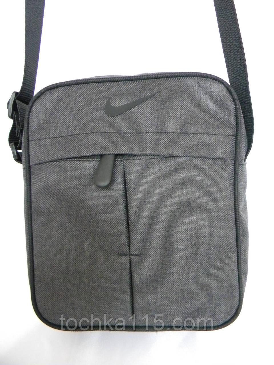 ac56ea253 Прочная сумка через плече Nike, сумка на плече найк, сумка найк мужская  реплика -