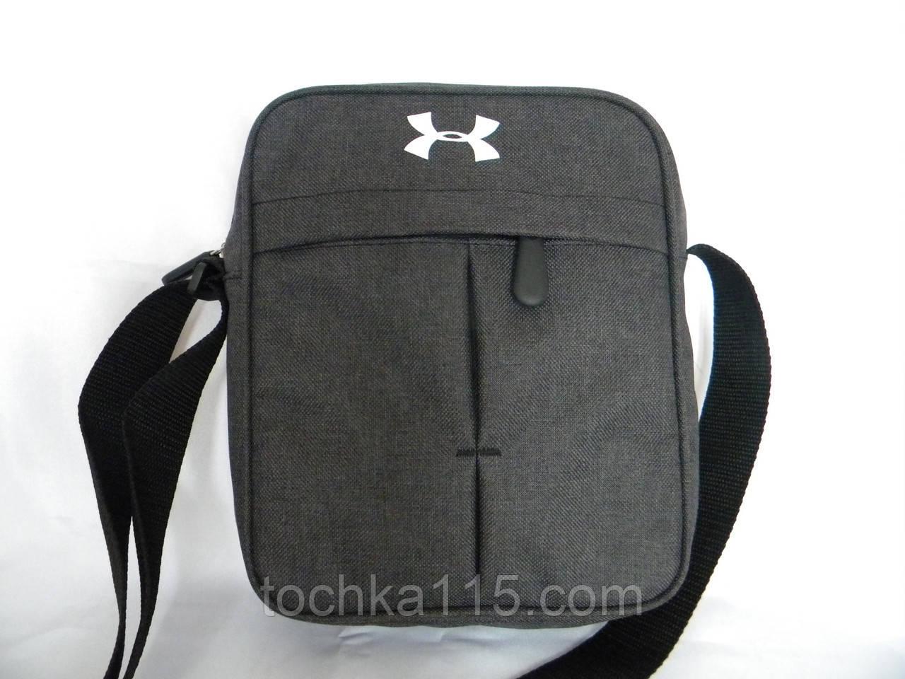 Прочная сумка через плече Under Armour, сумка на плече, сумка мужская реплика