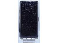 PR7-48 Портсигар под длинные сигареты, Портсигар без зажигалки, Стильный портсигар под тонкие сигареты