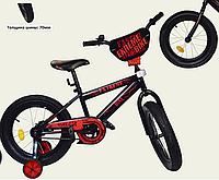 Велосипед двухколесный 16 дюймов EXTREME BIKE Фетбайк 181645 красный ***