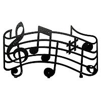 Вешалка настенная Melody (металлическая)