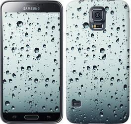 """Чехол на Samsung Galaxy S5 g900h Стекло в каплях """"848c-24-328"""""""