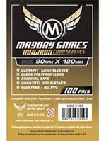 Протекторы (кармашки) Mayday game для карт GaGa Games 80 х 120 мм Dixit 100 шт. (GG012)