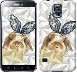 "Чехол на Samsung Galaxy S5 Duos SM G900FD Bunny ""3073c-62-328"""