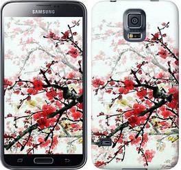 "Чехол на Samsung Galaxy S5 Duos SM G900FD Цветущий куст ""831c-62-328"""
