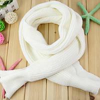 Вязаный мягкий шарф.