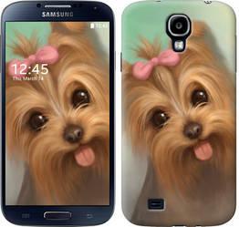"Чехол на Samsung Galaxy S4 i9500 Нарисованный йоркширский терьер ""928c-13-328"""