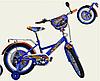 Детский двухколесный велосипед 18 дюймов Хот Вилс 181809  ***
