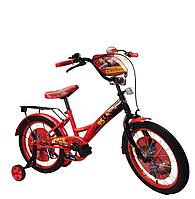 Детский двухколесный велосипед 18 дюймов Тачки 181816 ***