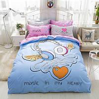 Комплект постельного белья Music In My Heart (двуспальный-евро) Berni