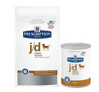 Корм Hills (Хилс)  Prescription Diet Canine j/d лечение артрита для собак 12 кг
