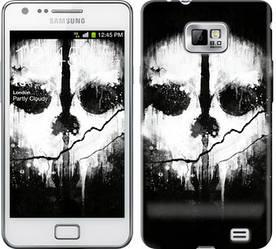 "Чехол на Samsung Galaxy S2 i9100 Call of Duty череп ""150c-14-328"""