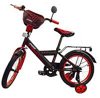 Детский двухколесный велосипед 18 дюймов Спорт 181842 красный ***